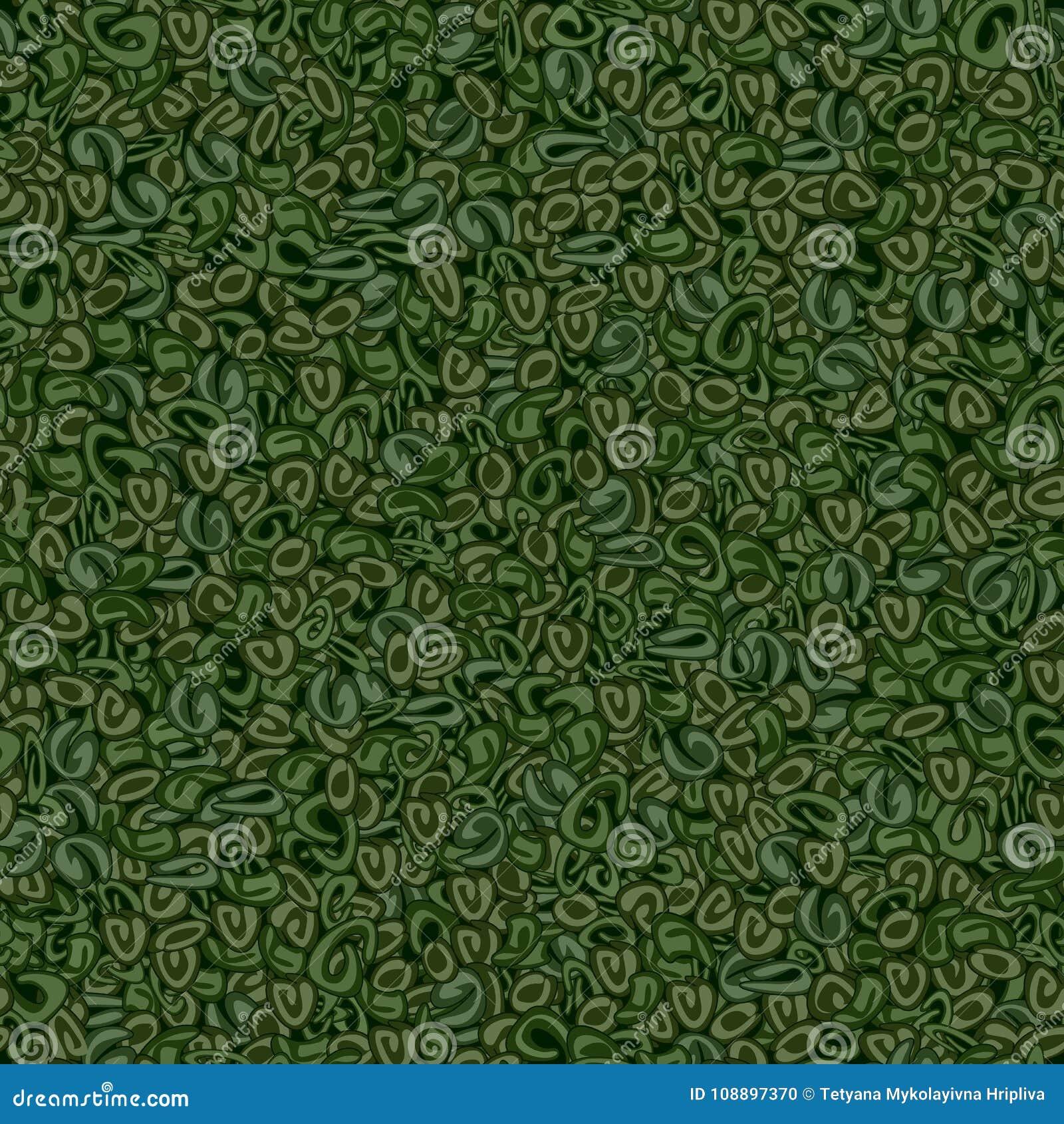 Texture sans couture de thé vert de poudre