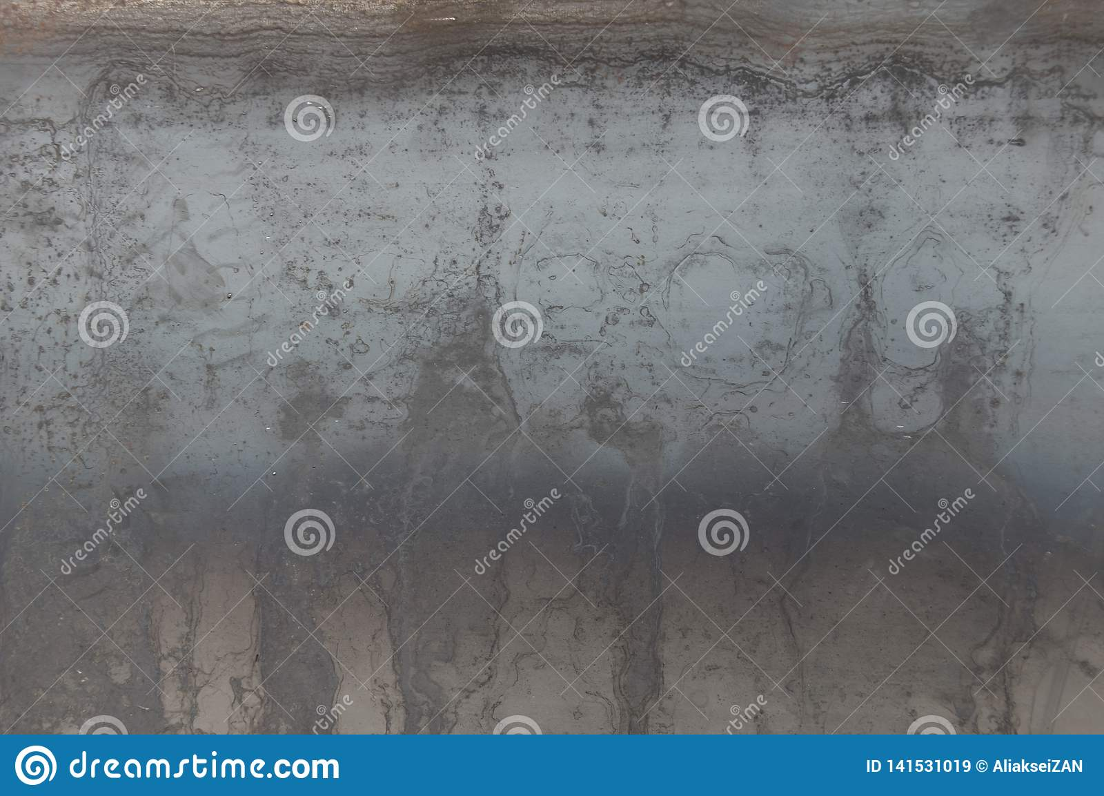 Texture sheet of iron with an overheating, traces of rust.