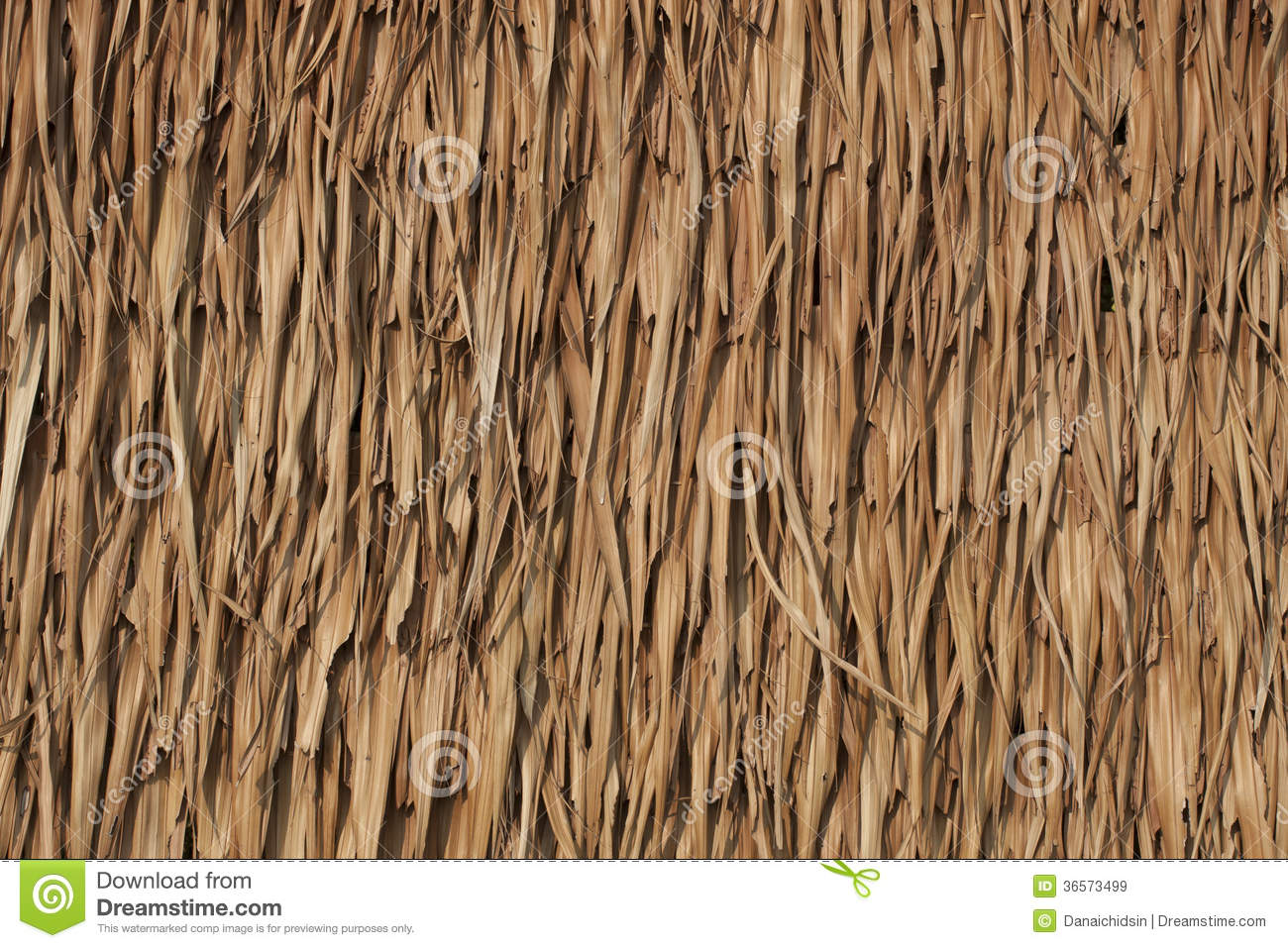 Texture Of Thatch Roof Royalty Free Stock Images Image