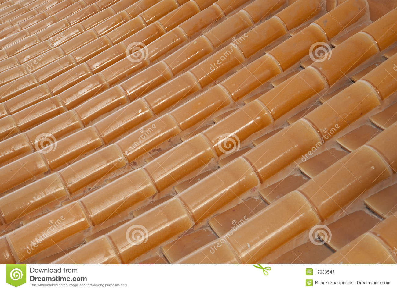 Texture Tile Roof Chinese Style Stock Image Image Of