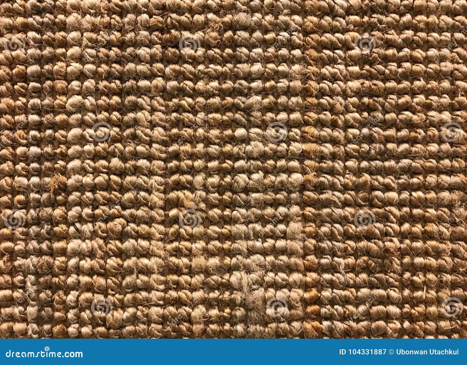 Texture Tissee De Tapis De Sisal Ou De Fibre Naturelle Pour Le
