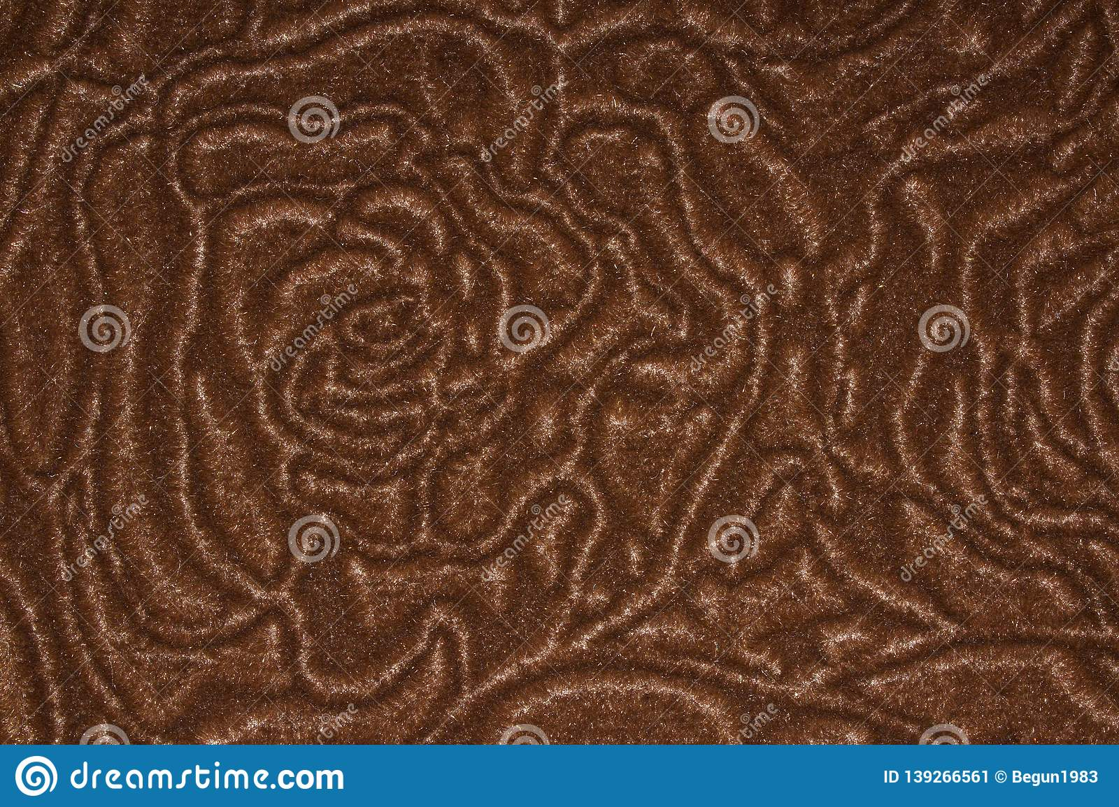 Texture Of Velour Fabric With Flower Patterns. Stock Image - Image of design, fashion: 139266561