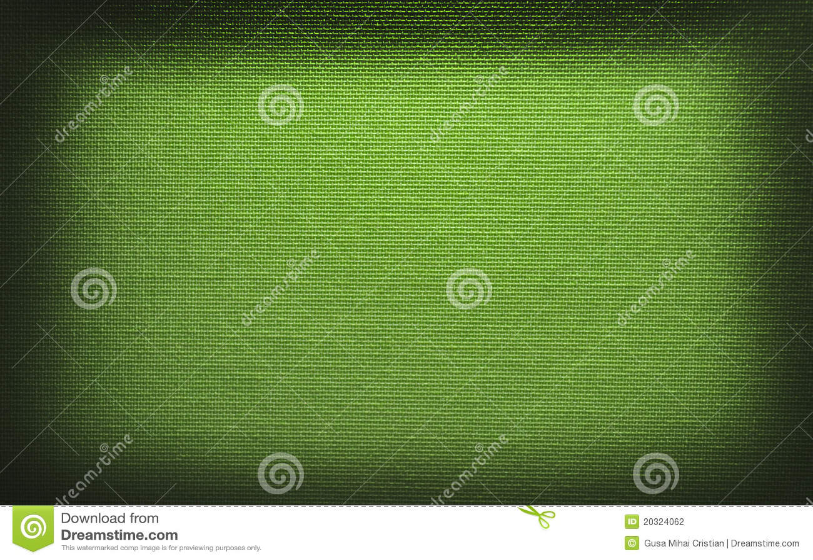 Texture vert clair de toile