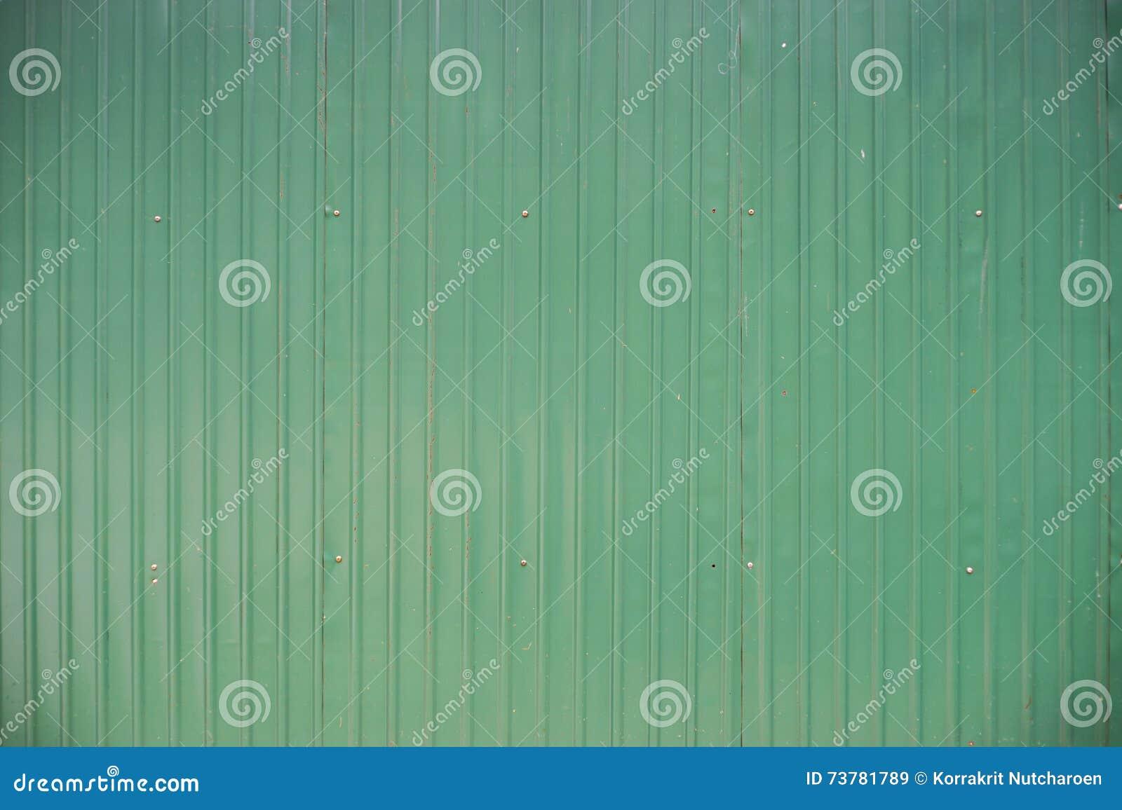 Feuille De Zinc Pour Cuisine texture verte de fond de mur de feuille de zinc en métal