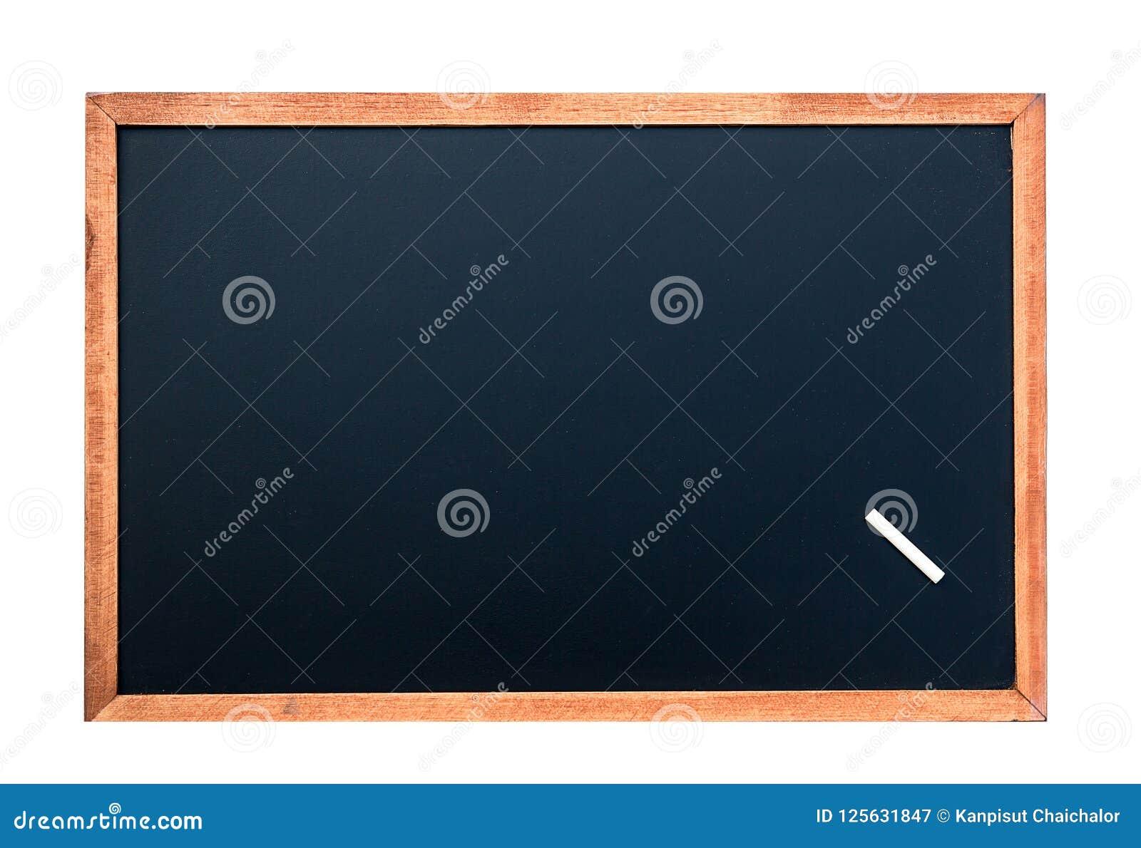 Texture vide de tableau avec une craie blanche Image pour le fond