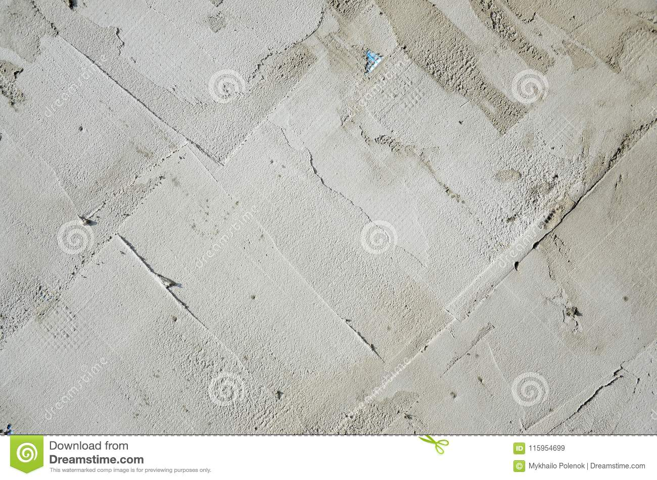 The Texture Of The Wall, Covered With Gray Foam Polystyrene