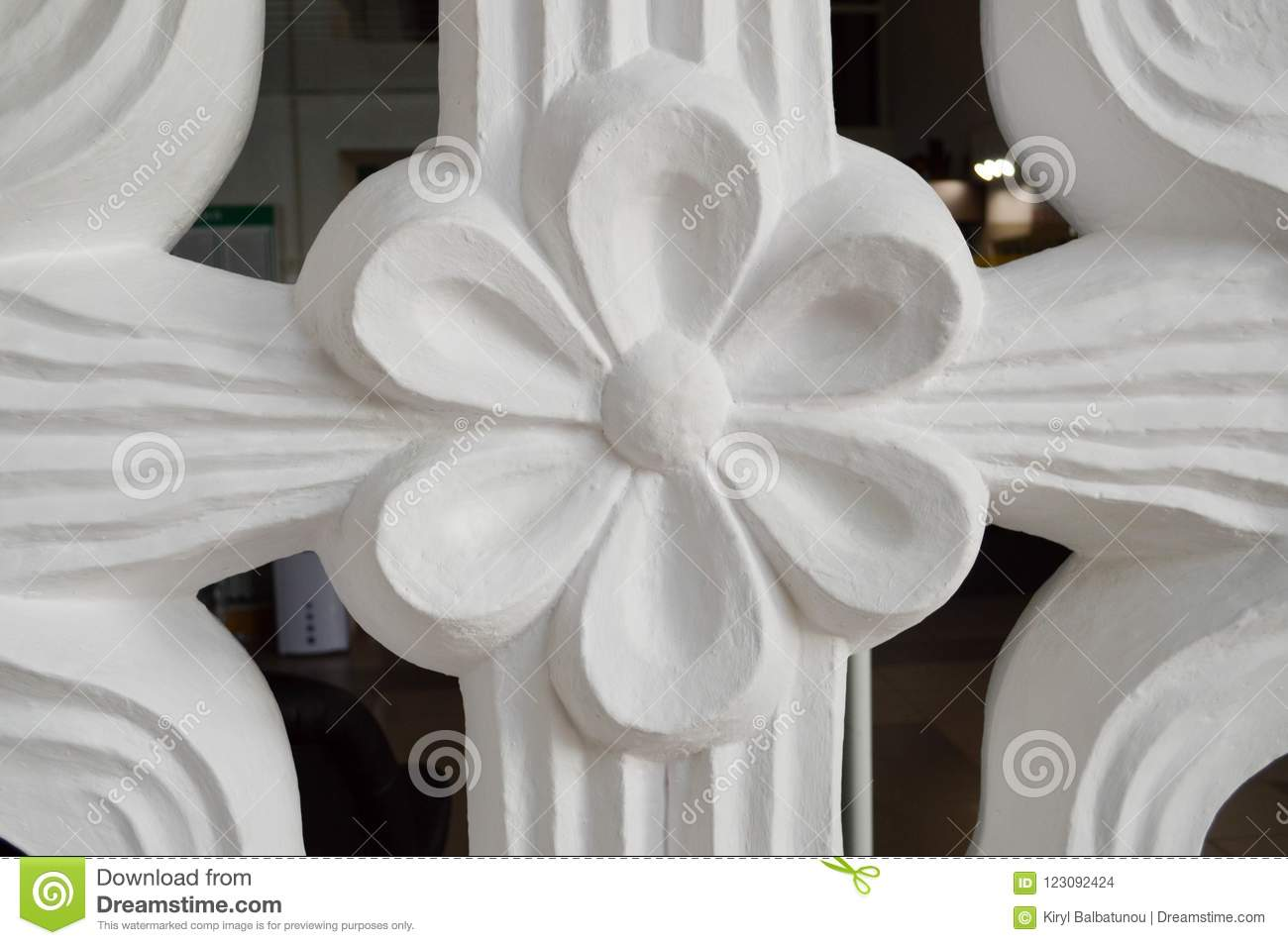 Texture of a white flower with petals of relief bulk from a texture of a white flower with petals of relief bulk from a decorative plaster of a stone with a pattern the background mightylinksfo