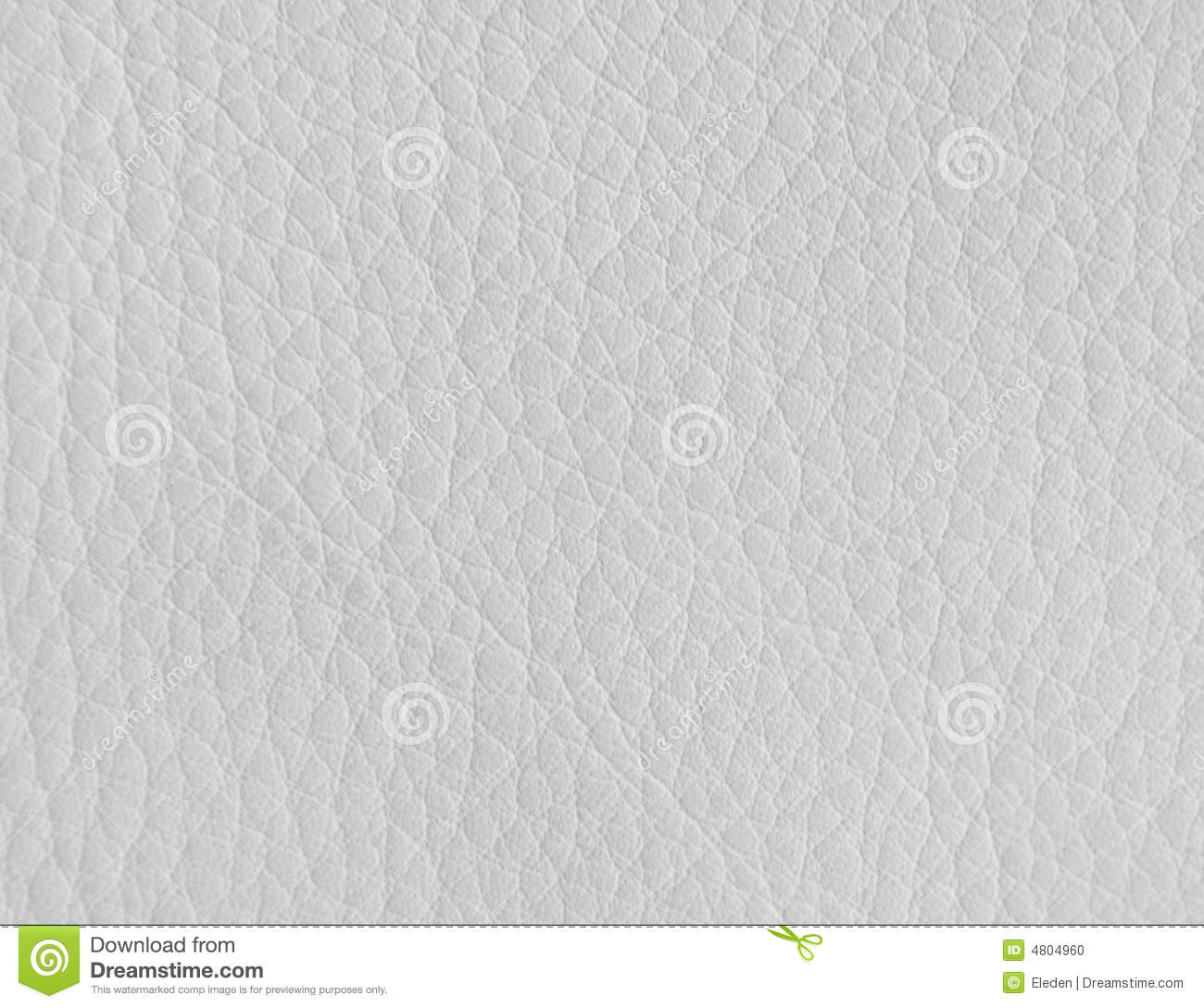 Texture of white leather