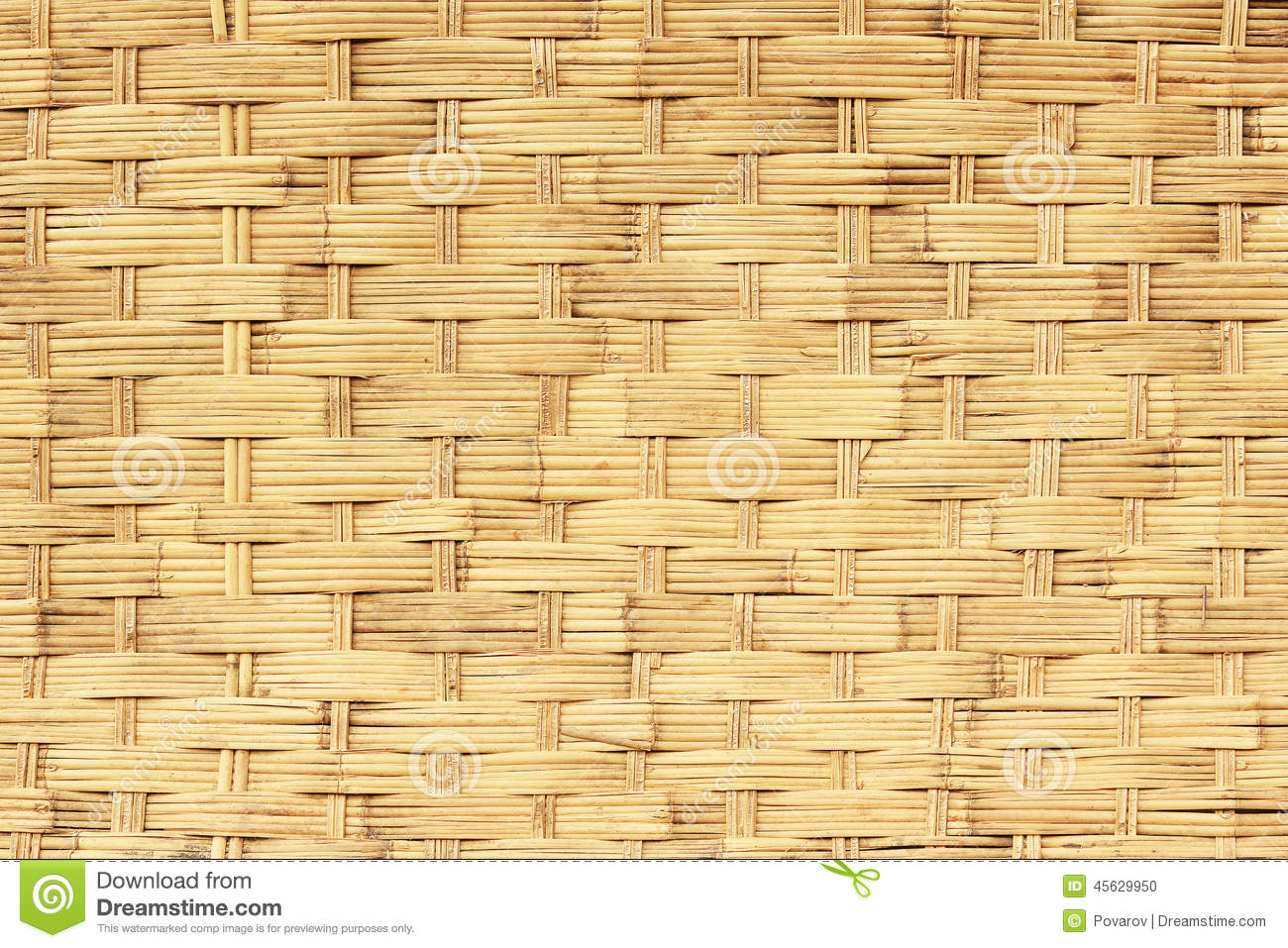 Texture of a wicker basket, background