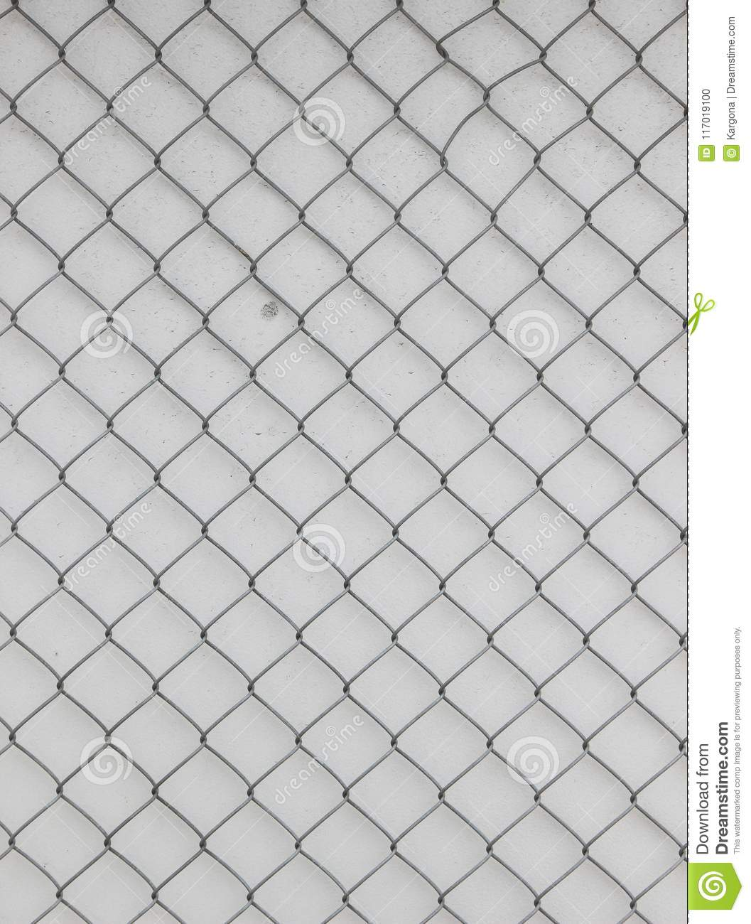 Surface Of A Wire Netting With Diamond-shaped Elements In Front Of A ...