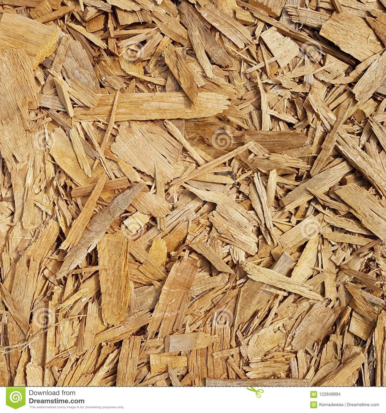 Texture Of Wood Chips Stock Photo Image Of Wooden Chips 122849994