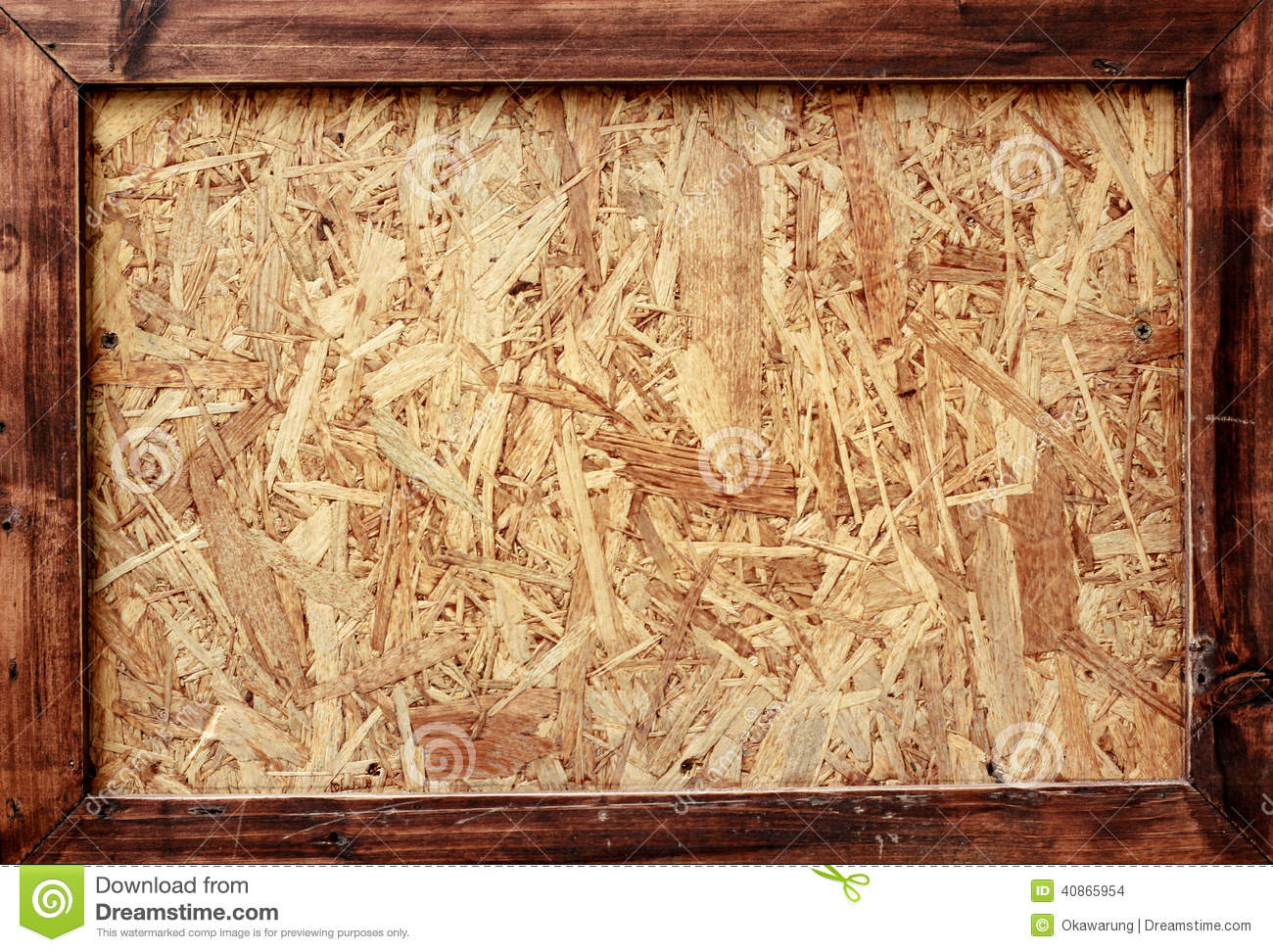 Texture Wood Plank Made To Frame Stock Photo Image 40865954