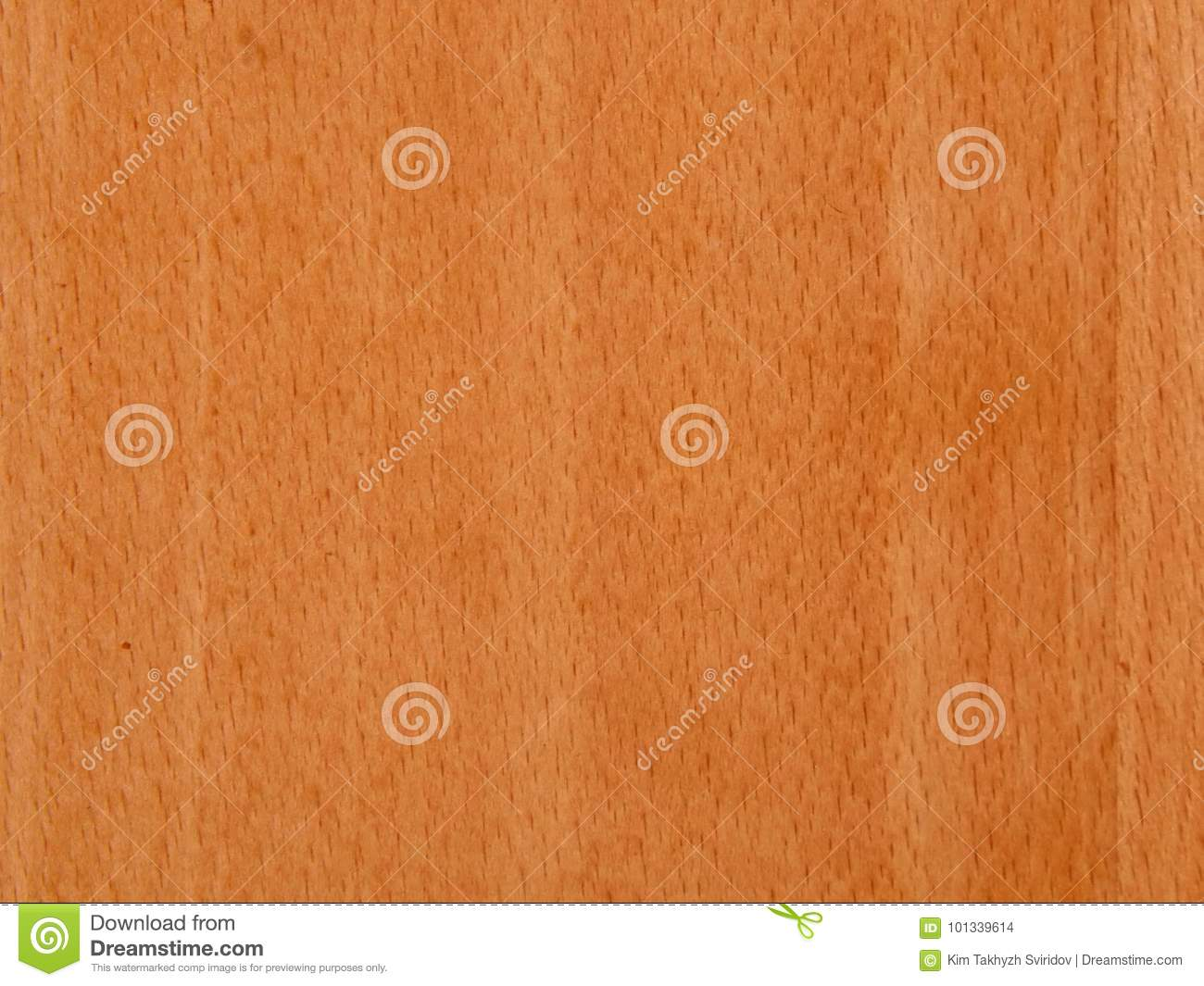 Texture of a wooden surface of a cherry tree wood veneer for furniture