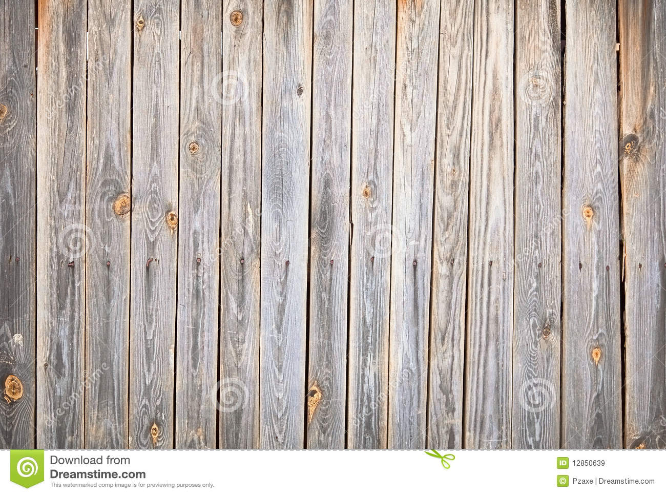 Textured background of old wooden fence stock image