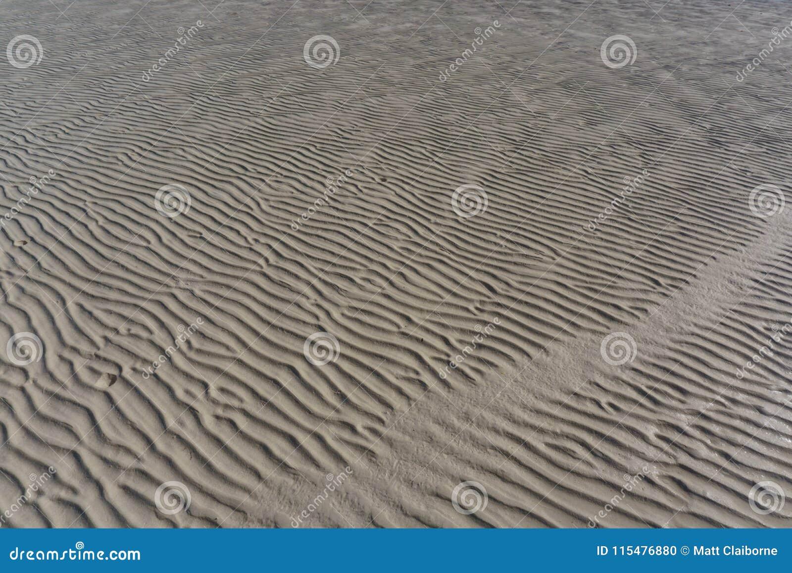 Textured piasek Pluskocze przy Niskim przypływem