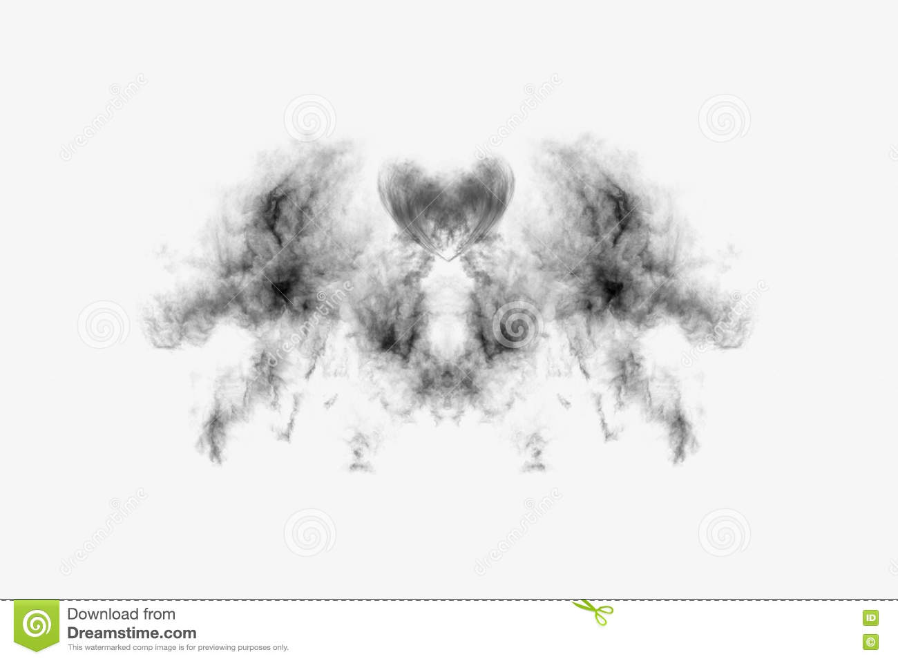 Download Textured Smoke,Abstract Black,isolated On White Background Stock Photo - Image of form, rain: 73787600