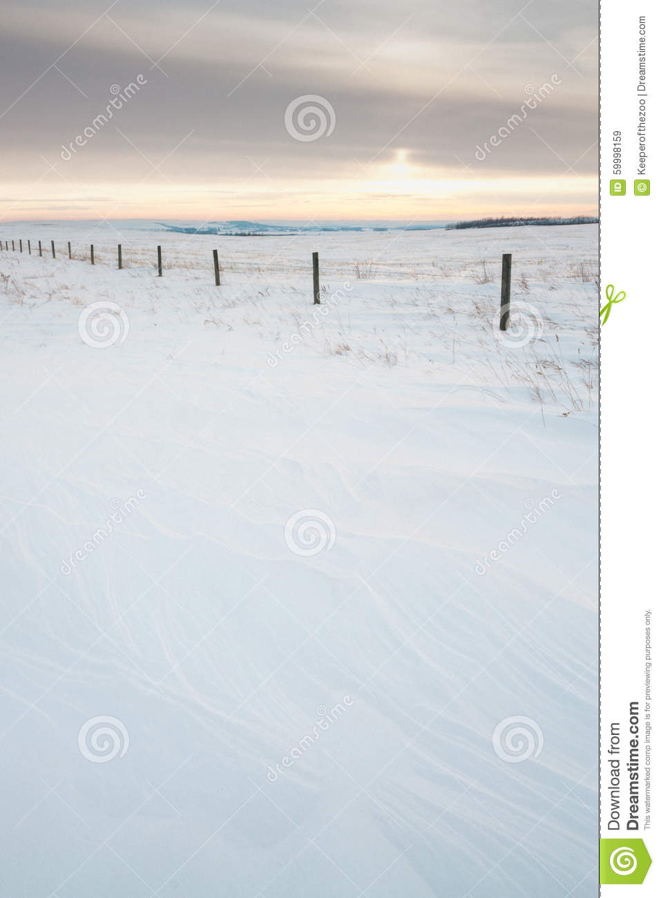 Download Textured Snow Landscape stock image. Image of fence, outdoor - 59998159