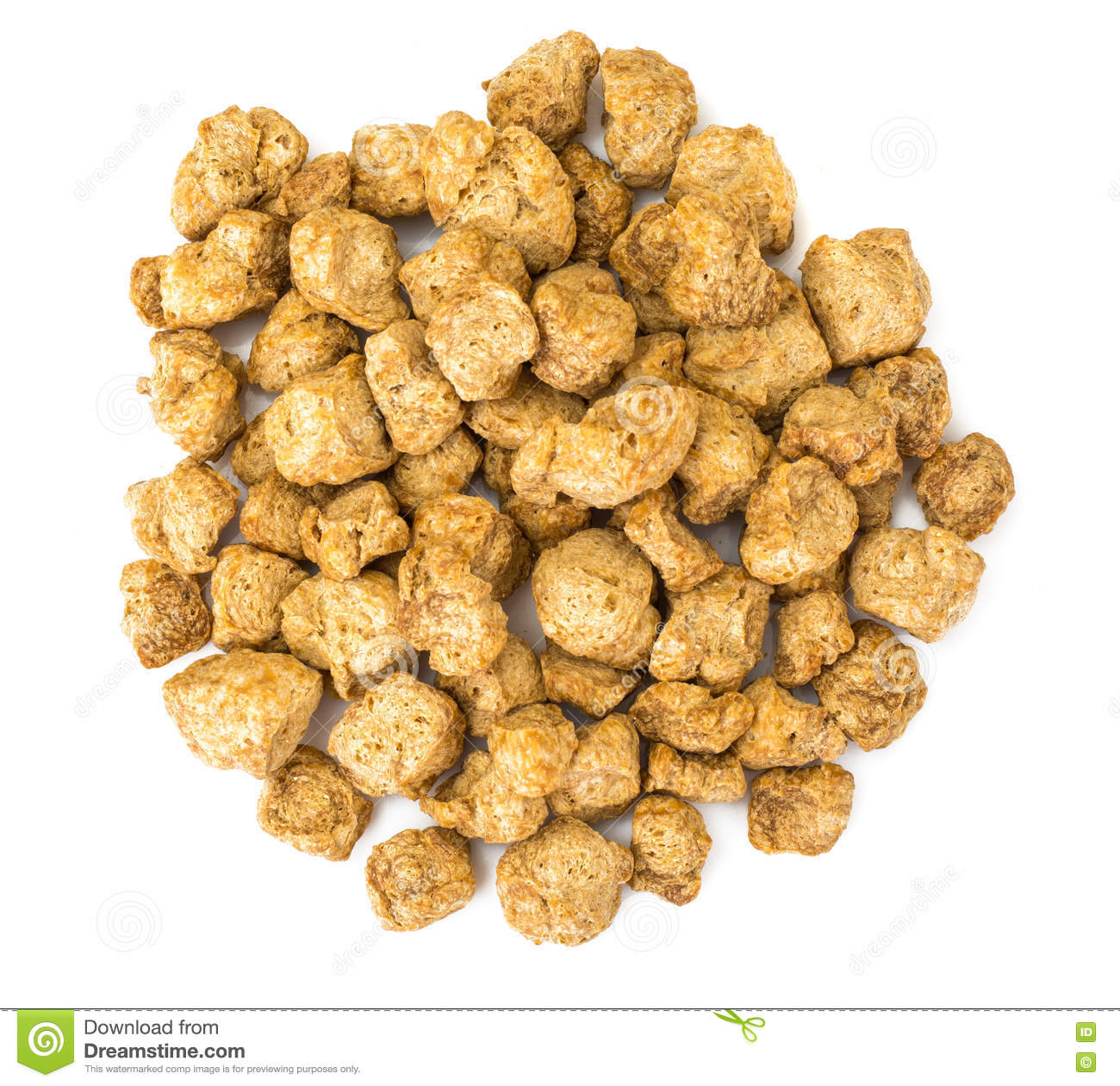 Textured Vegetable Protein Soy Meat For A Vegetarian Diet Stock