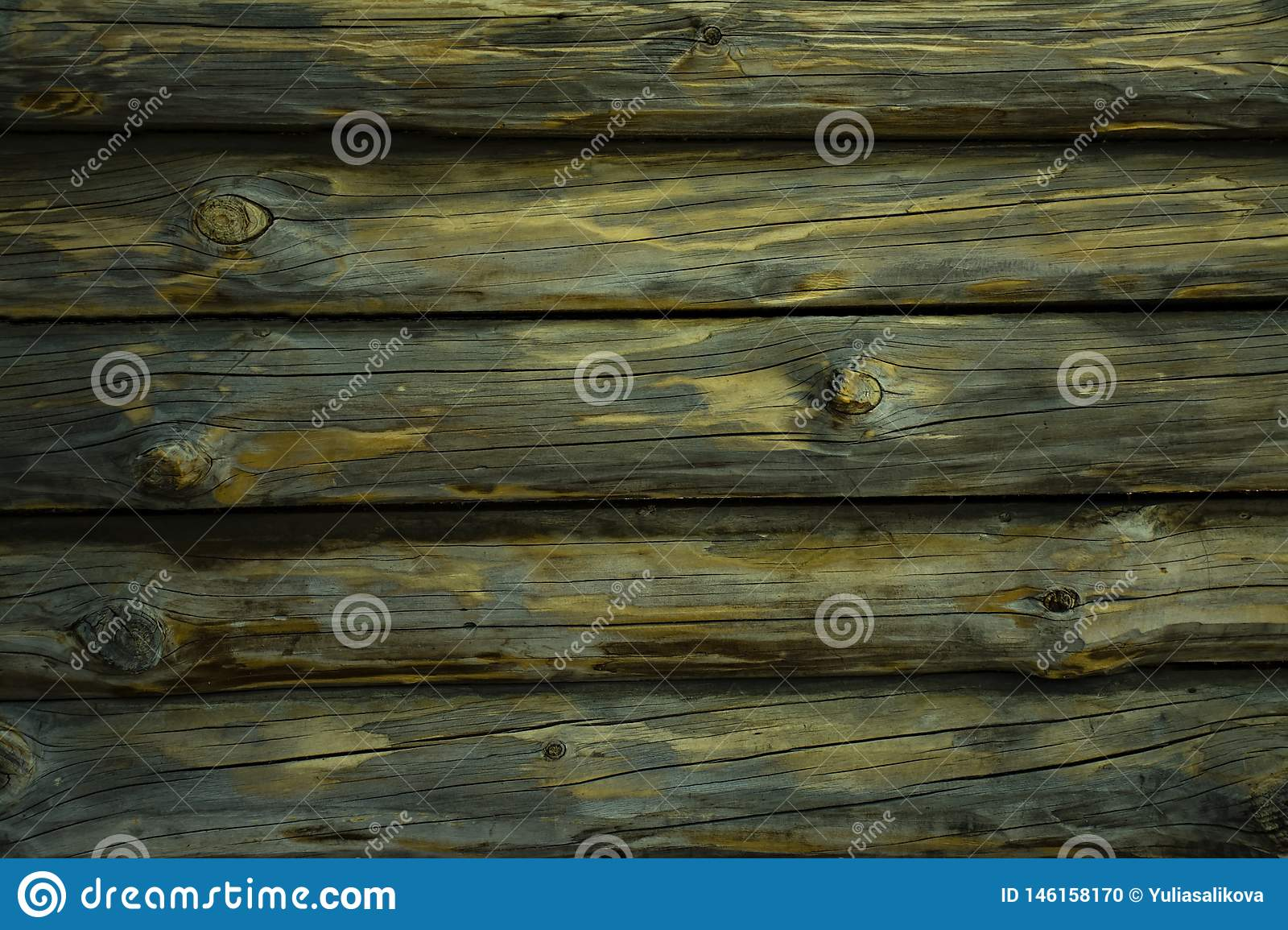 Textured wooden horizontal background with copy space. Horizontal decks. Place for text