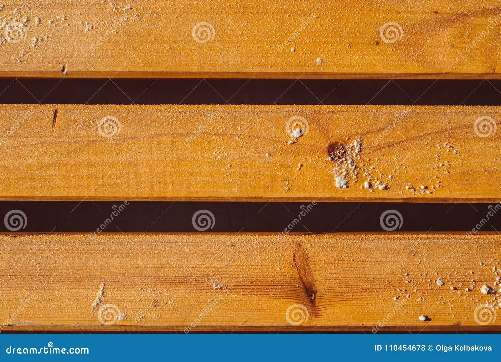 Texturen av brädena