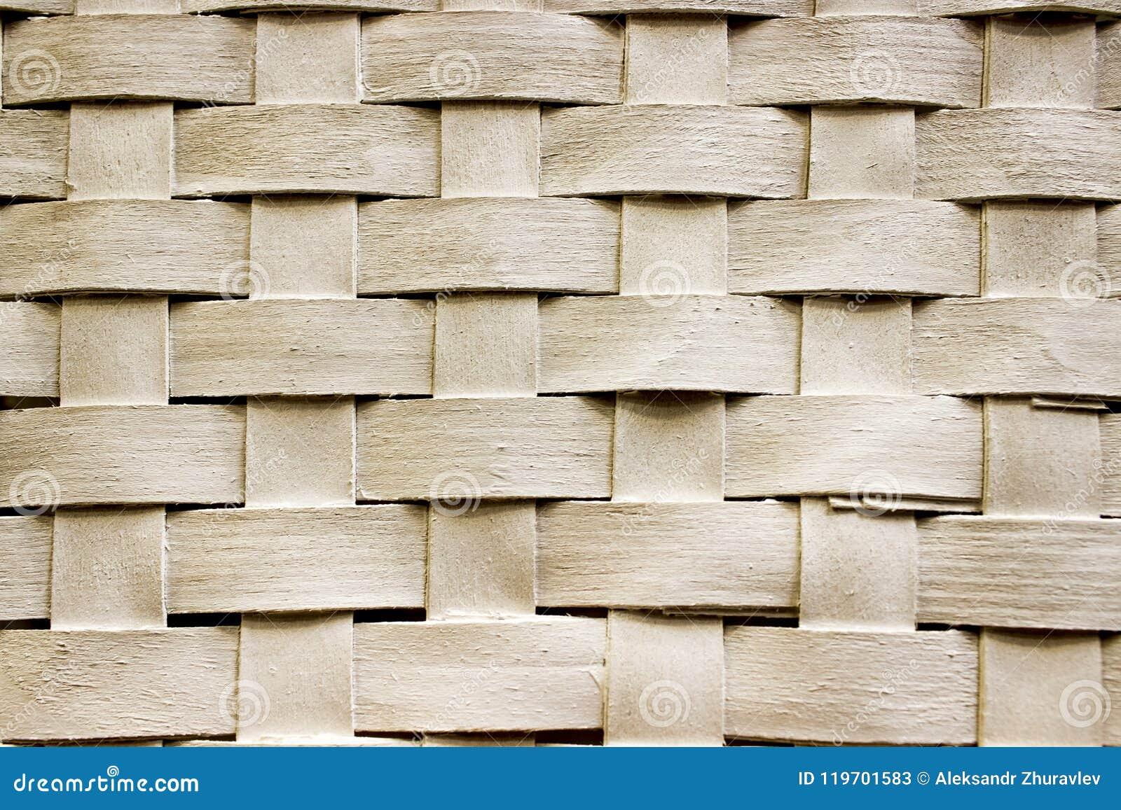 Texturen av trä-väven