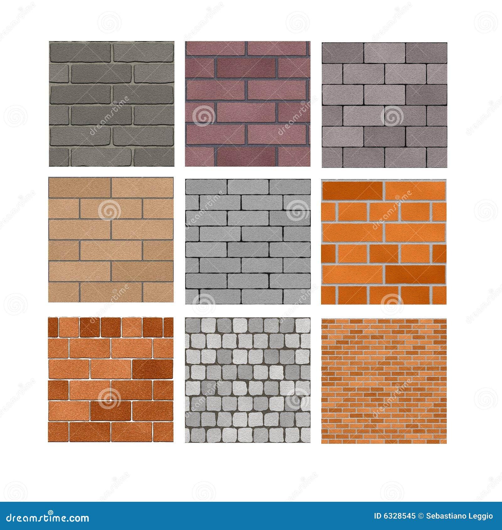 textures de mur de briques illustration stock illustration du couleur 6328545. Black Bedroom Furniture Sets. Home Design Ideas