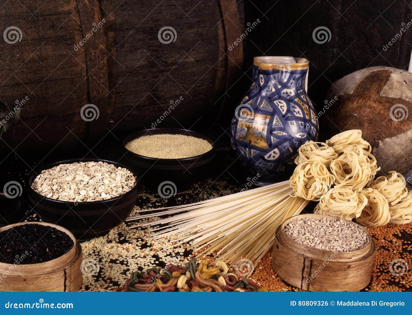 Textures et céréales