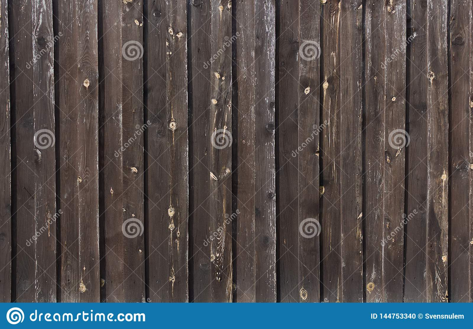 Textures of varnished wood plank wall closeup for background