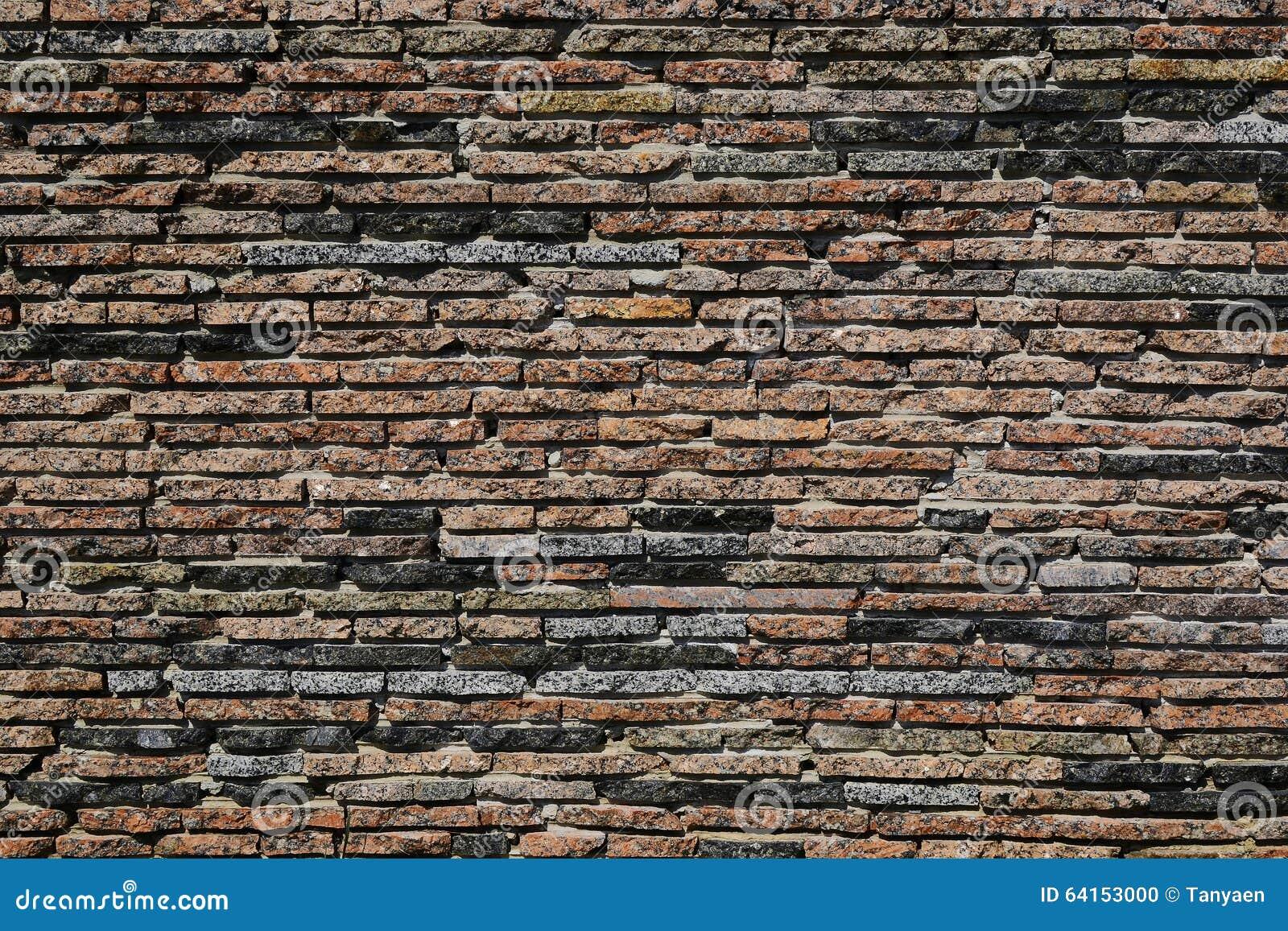 Textuur bruine bakstenen muur tegels kleine vlakte stock for Bruine tegels
