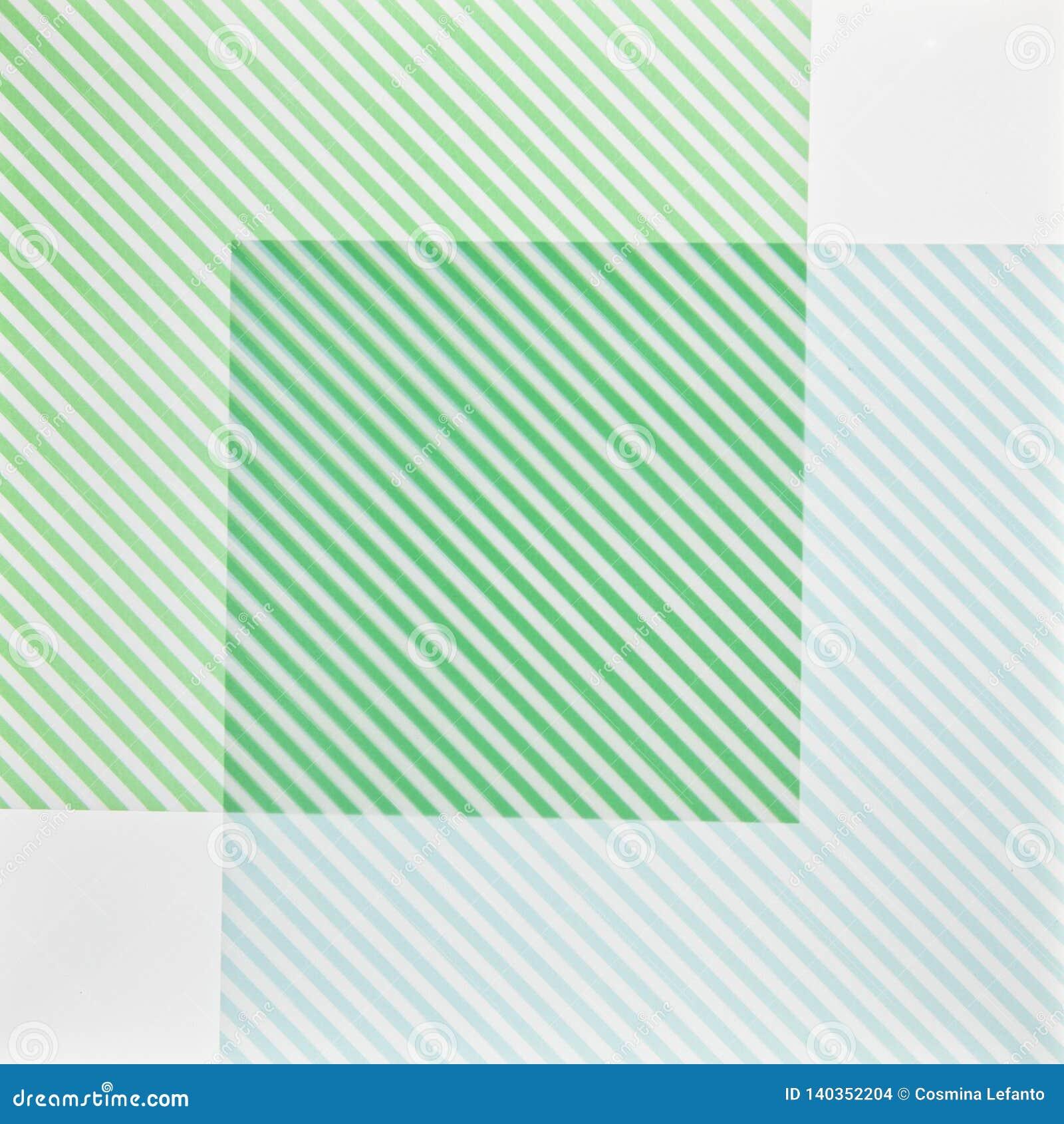 Textuur met groene en witte kaarten