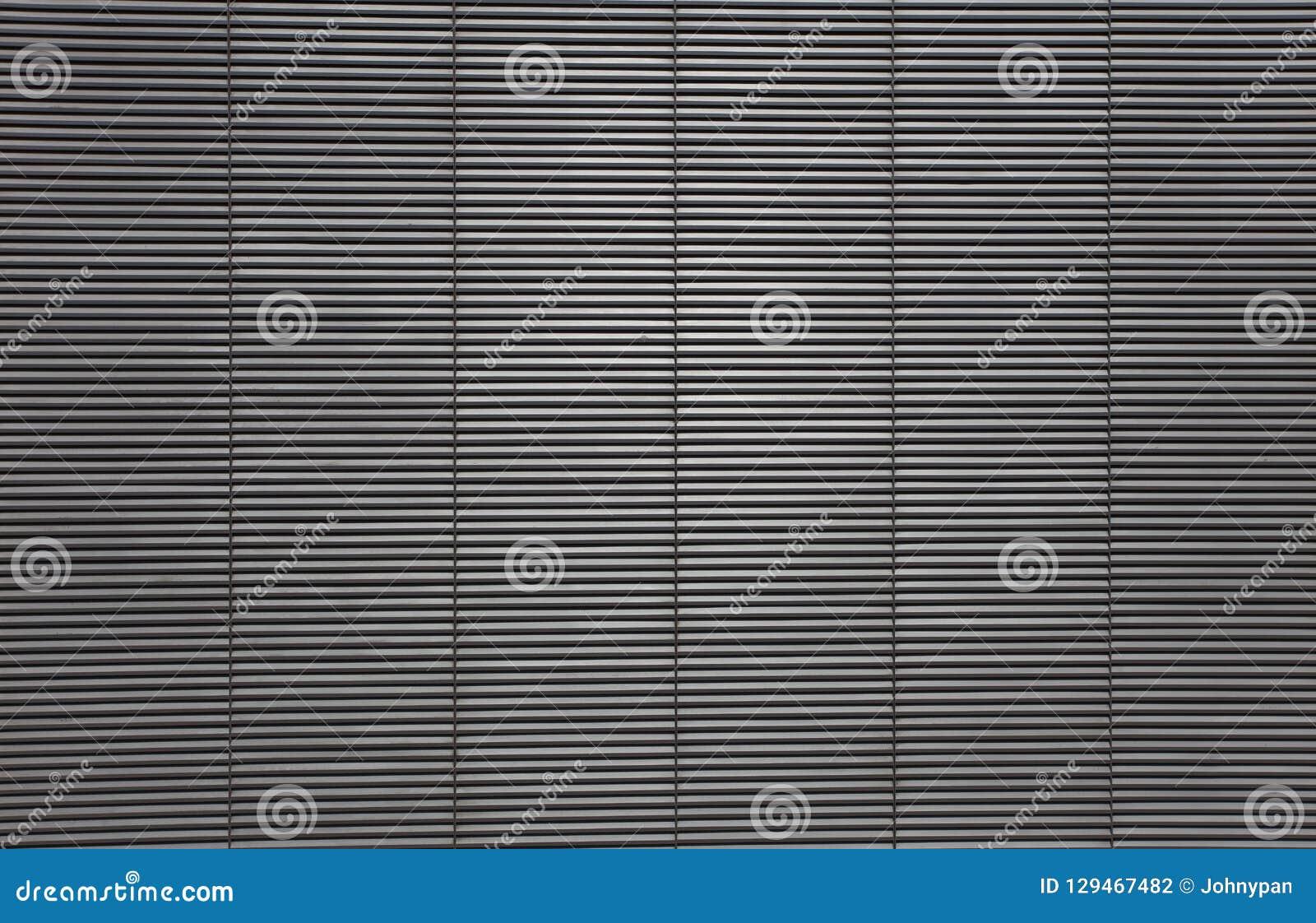 Textuur van de grill van de metaalopening