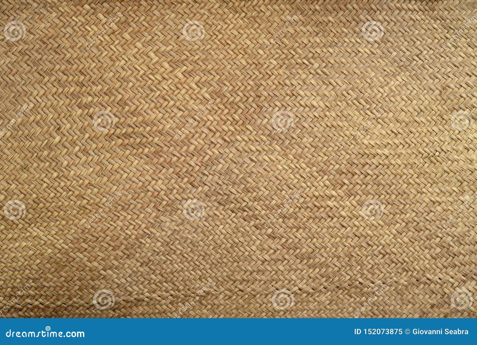 Textuur van de mat van het artezanalstro