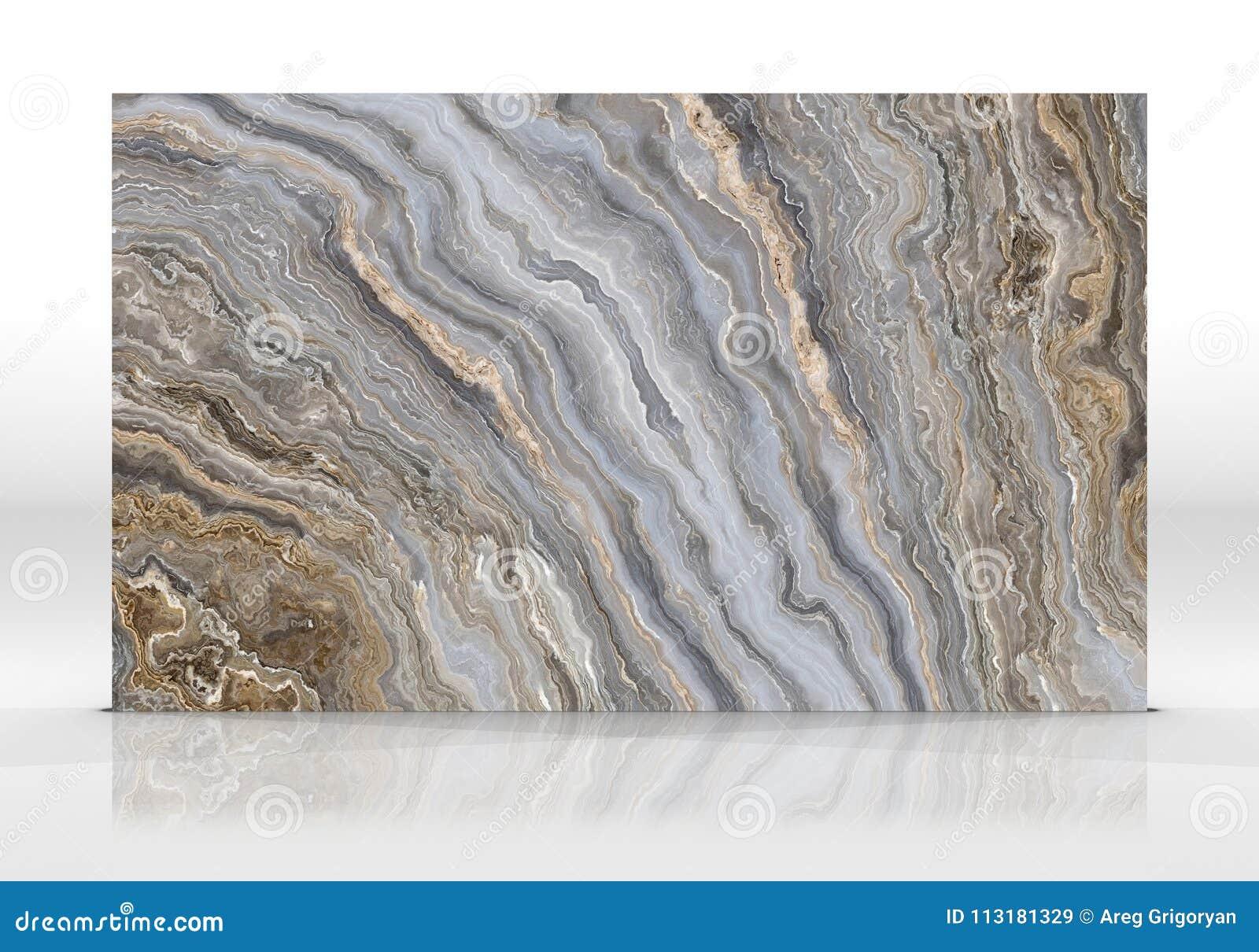 Textuur van de onyx de marmeren Tegel