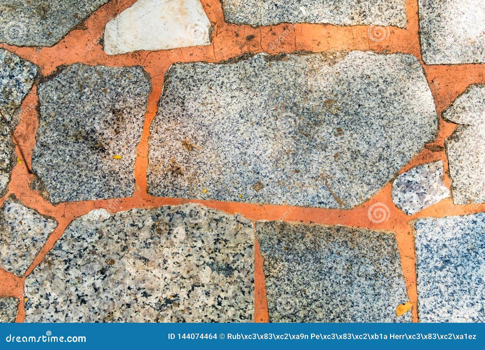 Textuur van dichte omhooggaand van de steen marmeren vloer