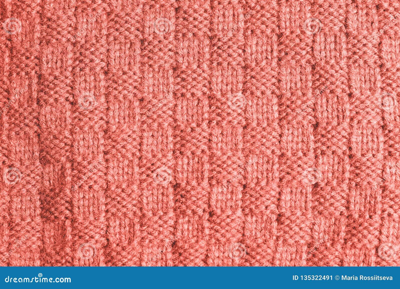 Textuur van gebreide stof