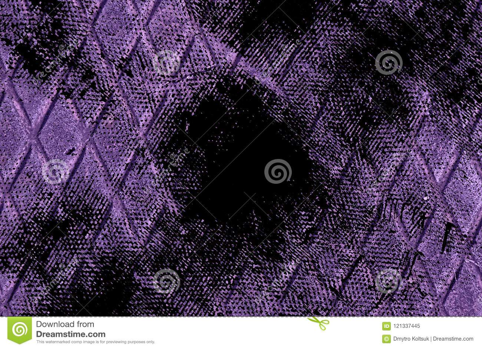 Textuur van het Grunge de vuile ultra purpere Roestvrije staal, ijzerachtergrond voor ontwerpergebruik