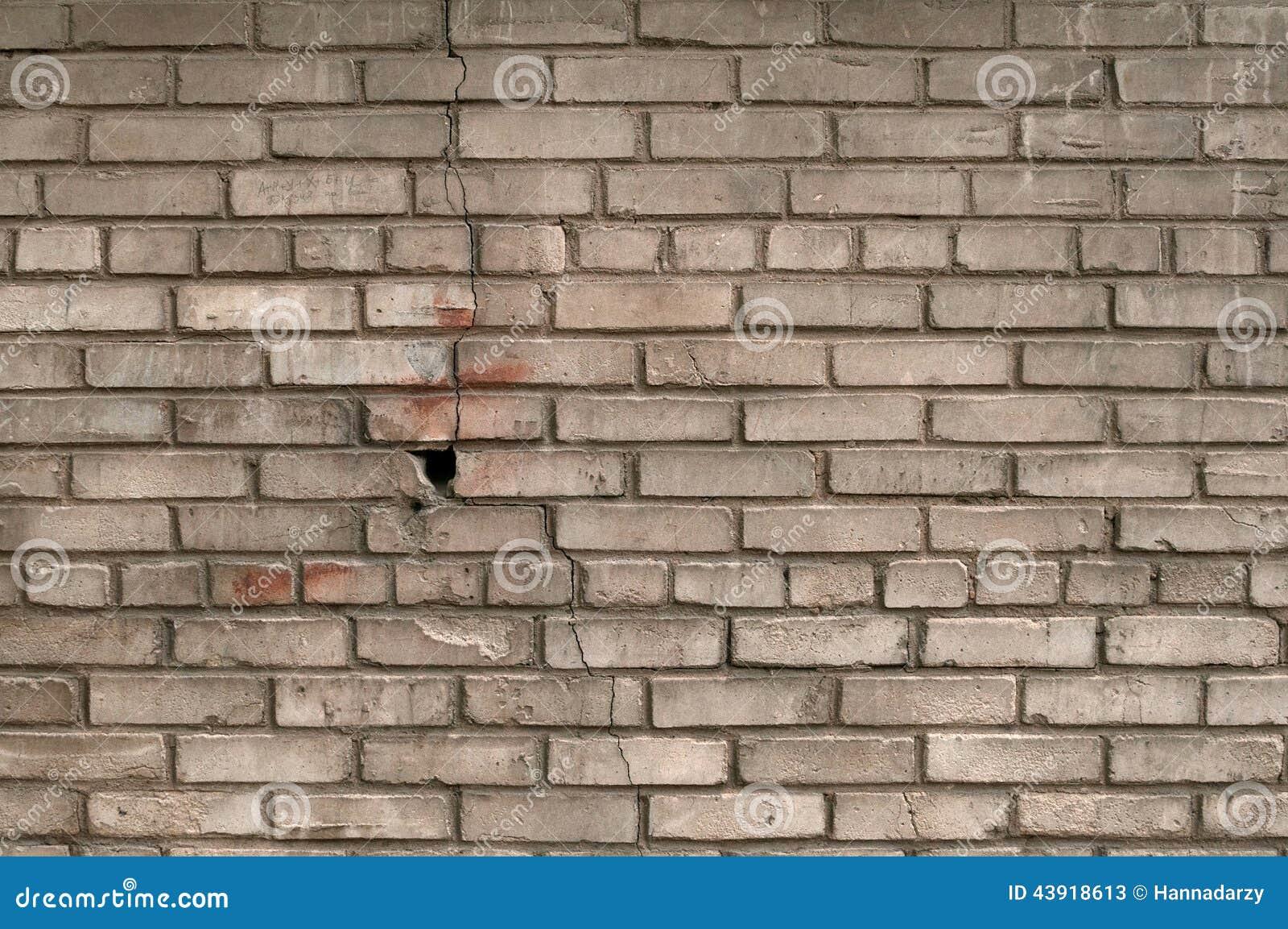 Textuur van oude grijze bakstenen muur stock afbeelding afbeelding 43918613 for Grijze muur