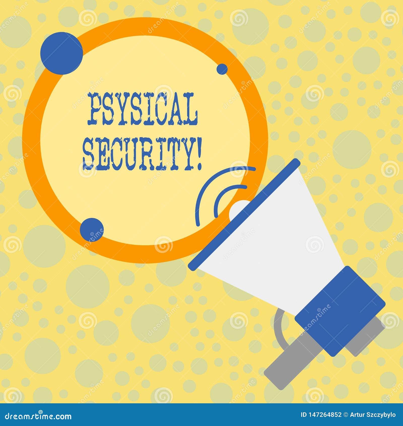 Textzeichen, das k?rperliche Sicherheit zeigt Begriffsfoto entworfen, um unberechtigten Zugriff zu den Anlagen zu verweigern