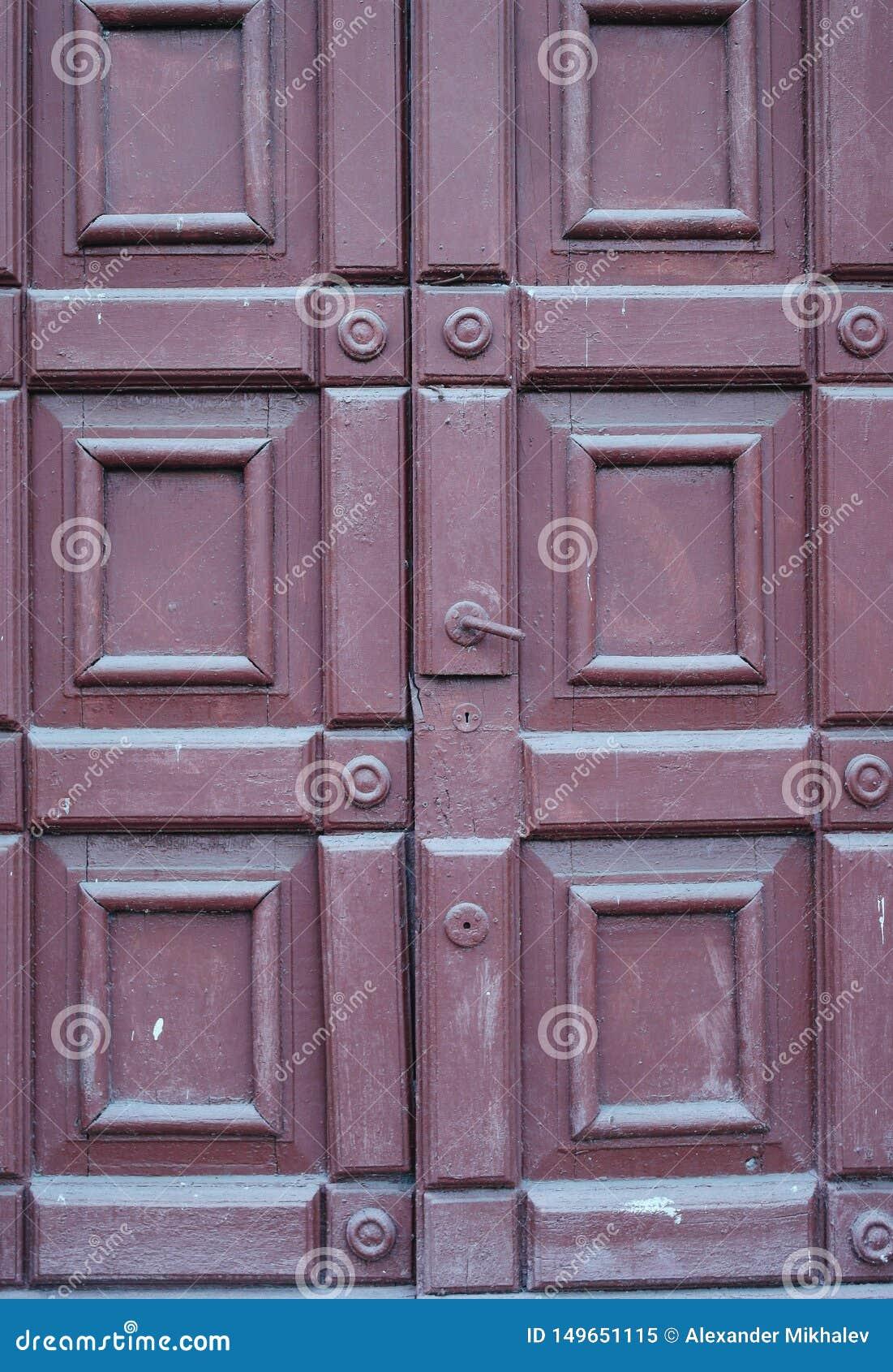 Texure door in the street