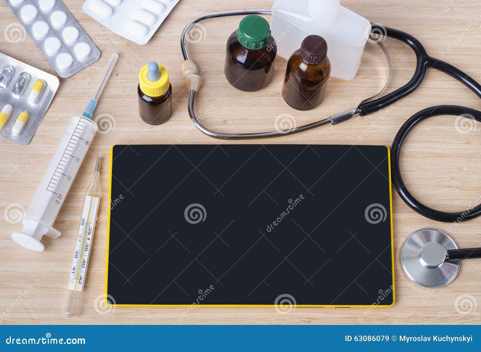 Download Thème médical de fond image stock. Image du planchette - 63086079