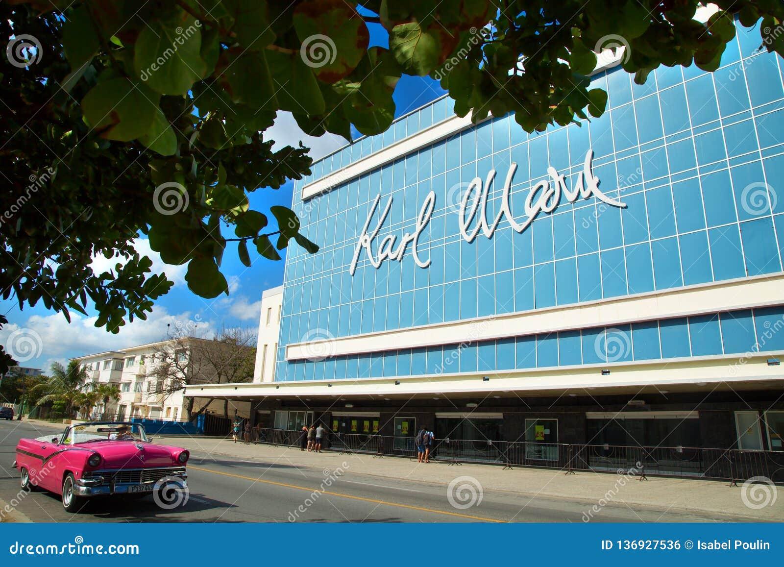 Théâtre de Karl Marx à La Havane au Cuba