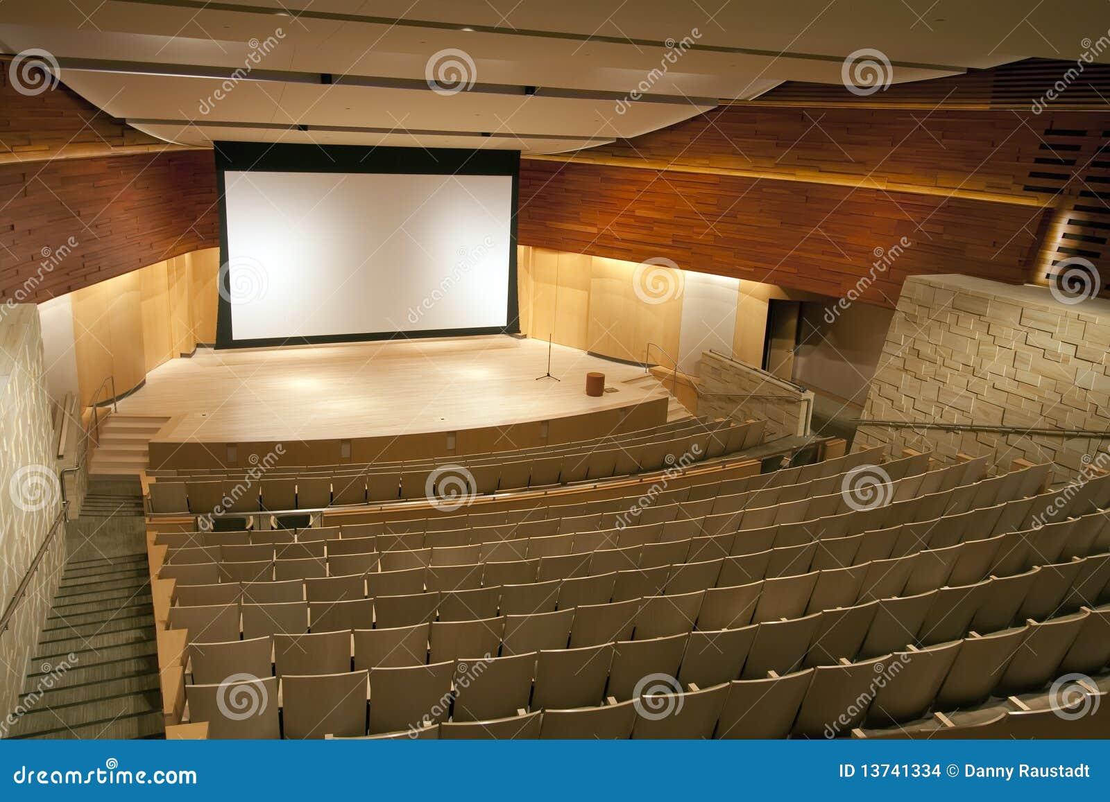 Théâtre moderne de salle