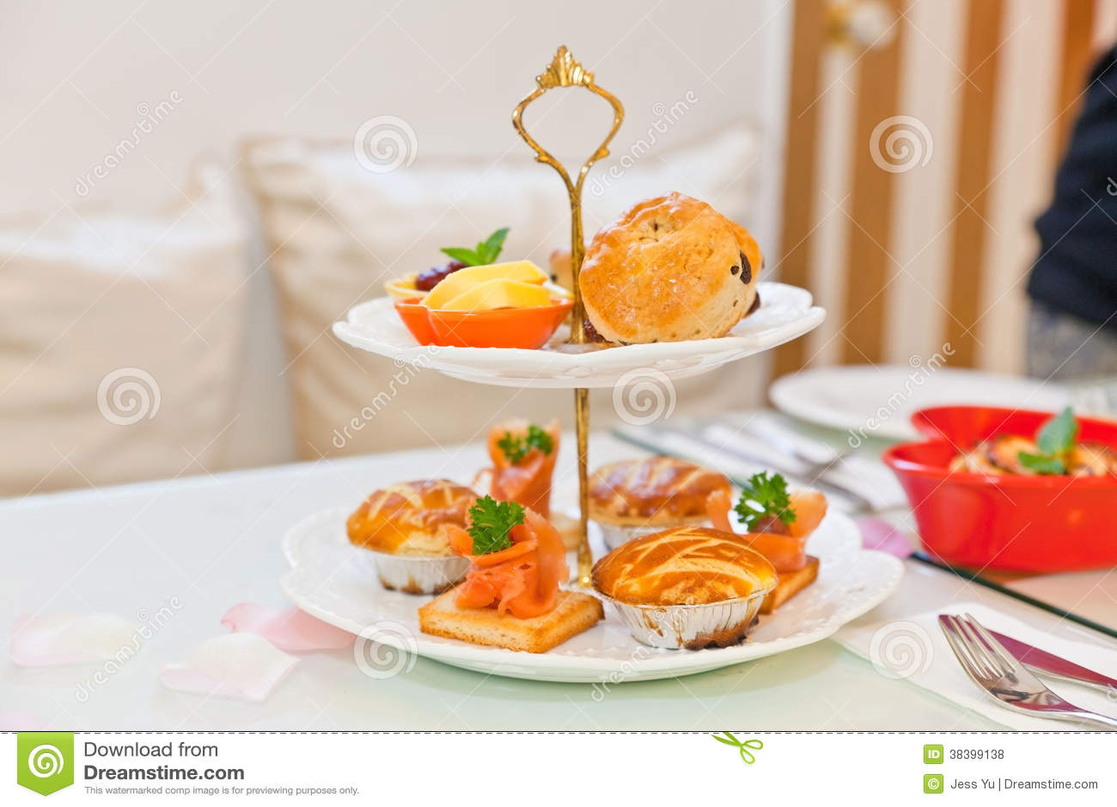 Thé d après-midi
