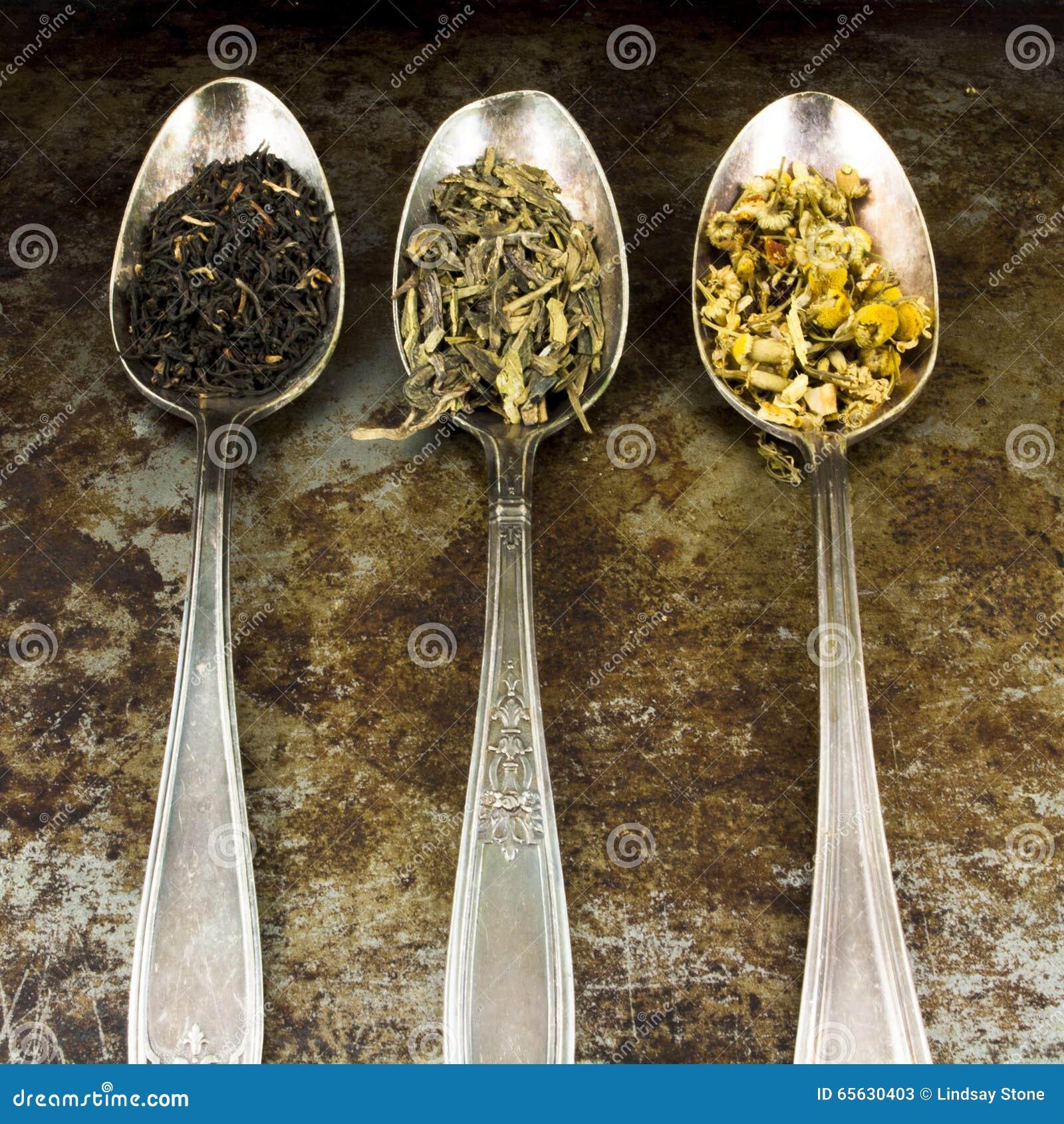 Thé de feuilles mobiles