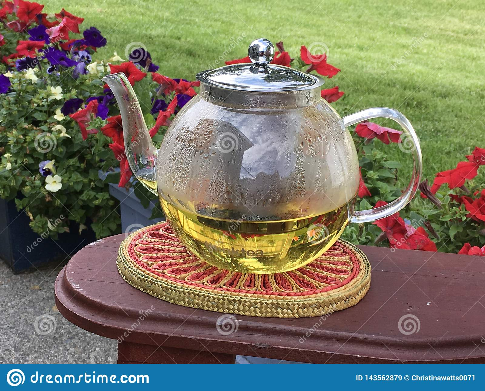 Thé de jardin