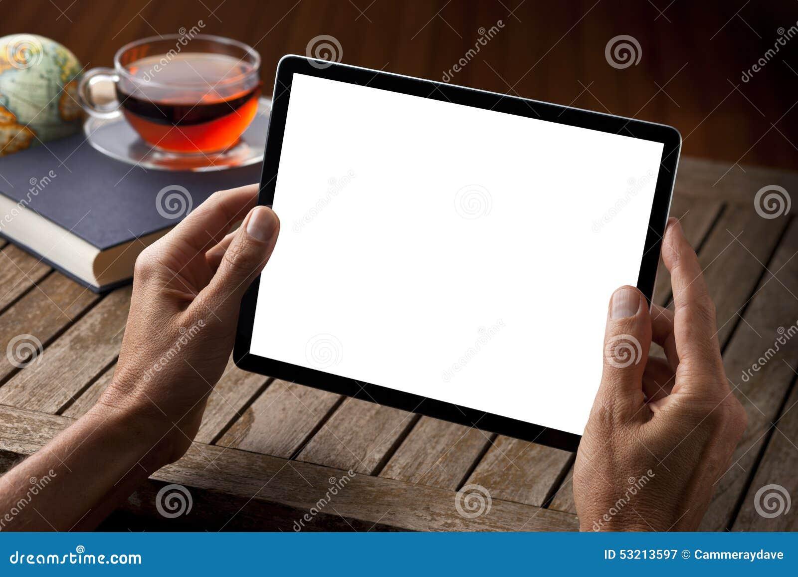Thé de Tableau de tablette de mains