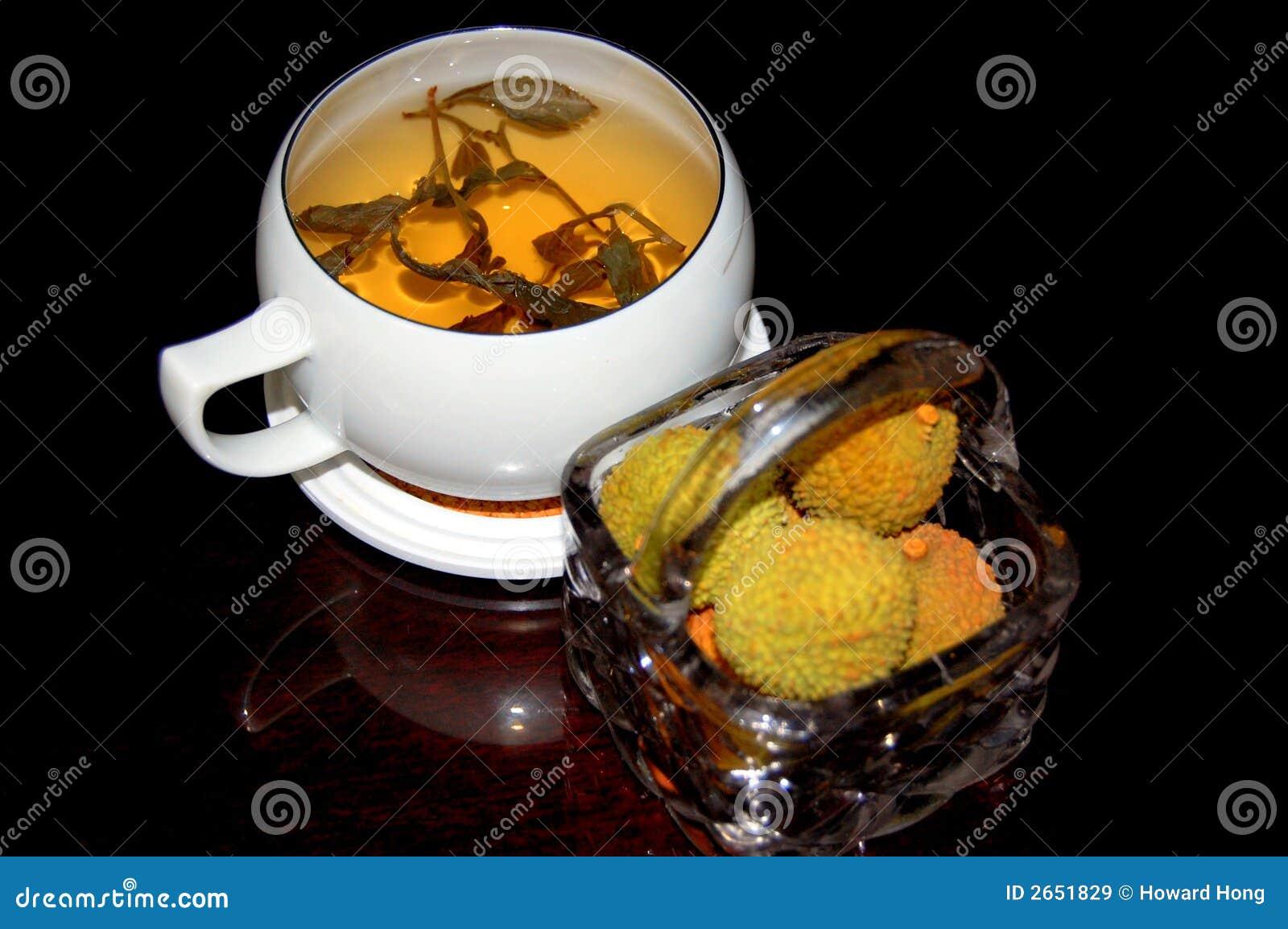 Thé et litchi