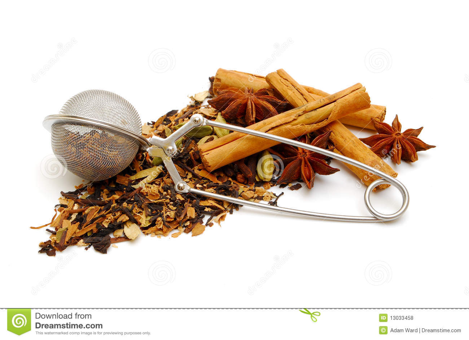 Thé noir épicé indien