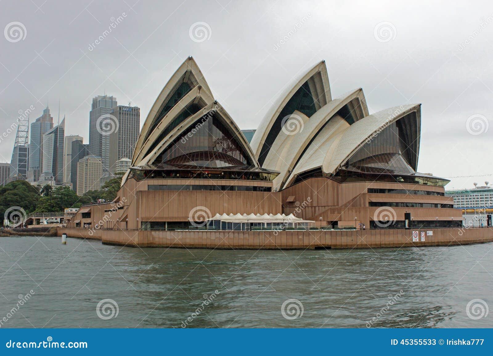 Théatre de l opéra, port de Sydney, Australie