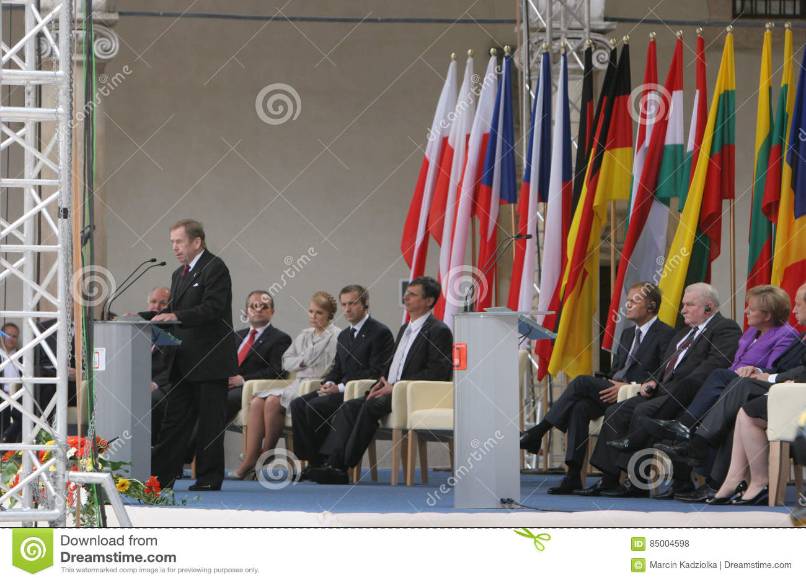 20th årsdag av kollapsen av kommunism i Centraleuropa